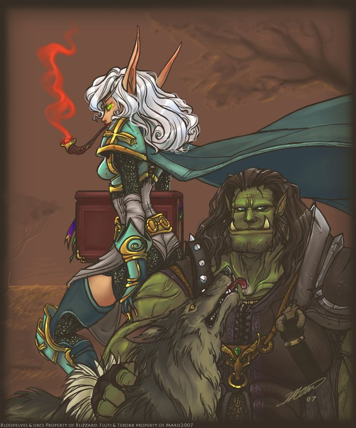 Lets share our favorite Warcraft fan-art! - Page 286
