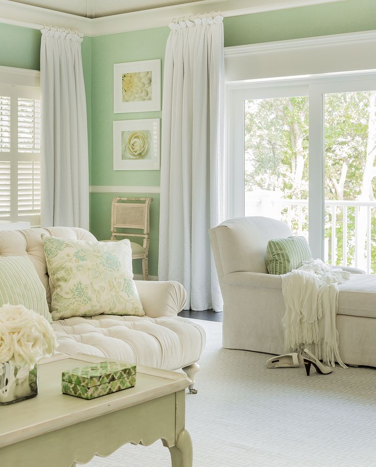 Green Living Room Ideas For Soothing Sophisticated Spaces: Brookes And Hill Custom Builders : Tucked Away