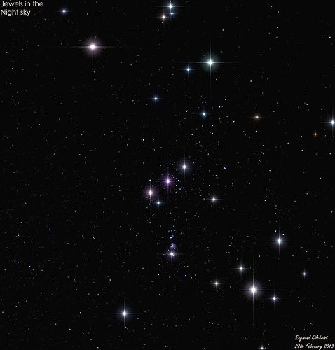 Orion - Jewels in the Night Sky | space/astronomy/storms | Pinterest