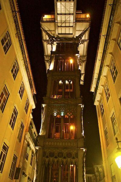 Santa Justa elevator - Rua do Carmo