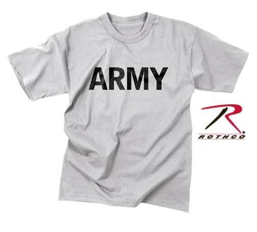 Серая футболка army