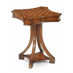 Jonathan Charles Small Walnut Game Table 492106 Http://www.ourgreatshop.com