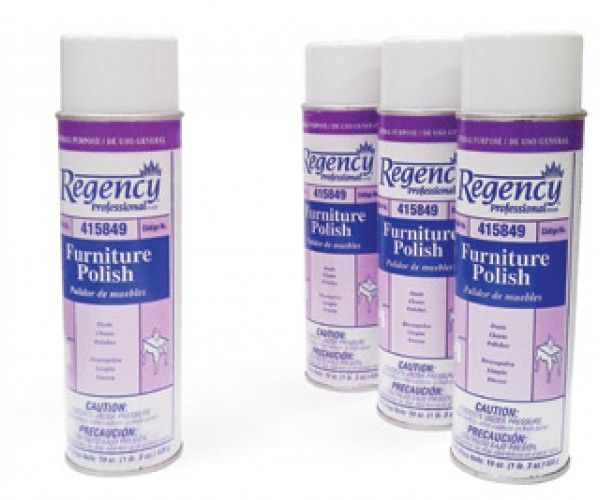 """Shop Furniture Polish """"Regency"""" Hotel Supplies Cleaning Supply 19oz  14.0 lbs Online At Ramayan Supply."""