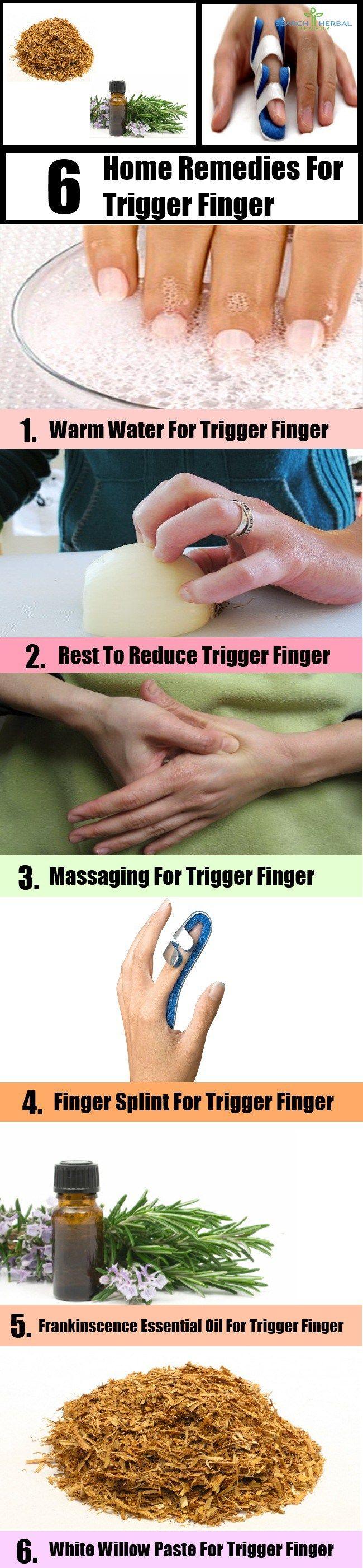 Remedies for Trigger Finger2