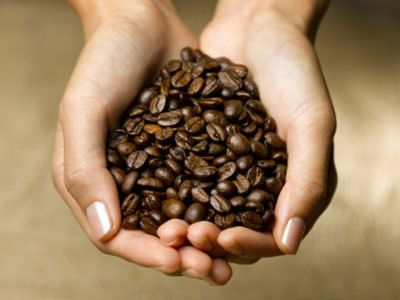 Rare types of coffee beans
