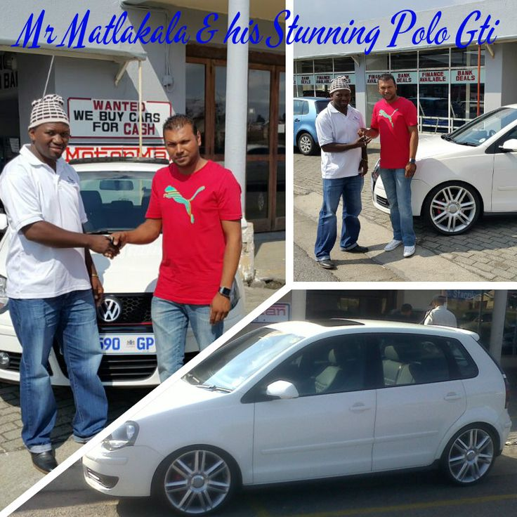 Mr Matlakala & His Stunning Vw Polo Gti! www.thempcargroup.co.za #happyclients #vw #polo #gti #delivery
