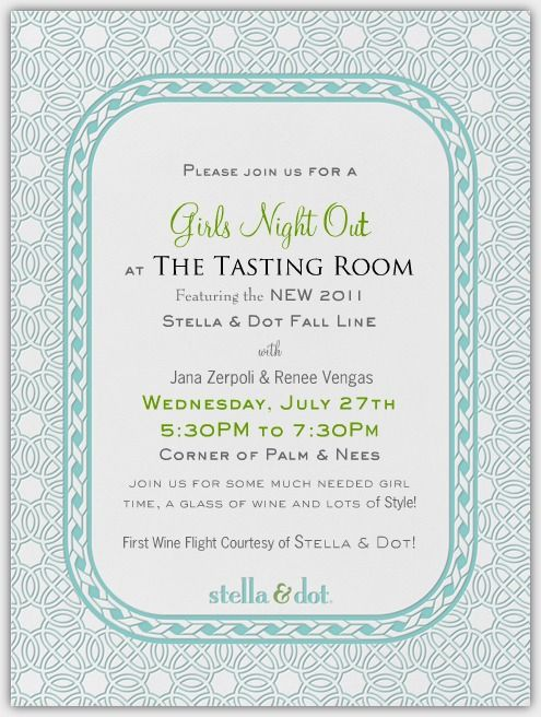 24 best images about Jewelry Party Ideas – Jewelry Party Invite