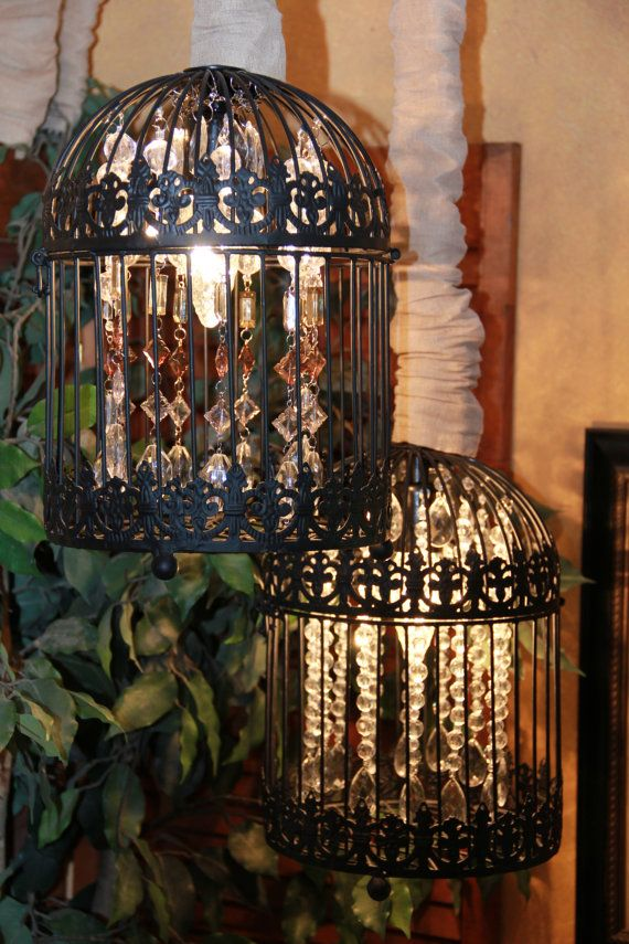 Birdcage Chandelier Mediterranea Design by MediterraneaDesigns, $175.00