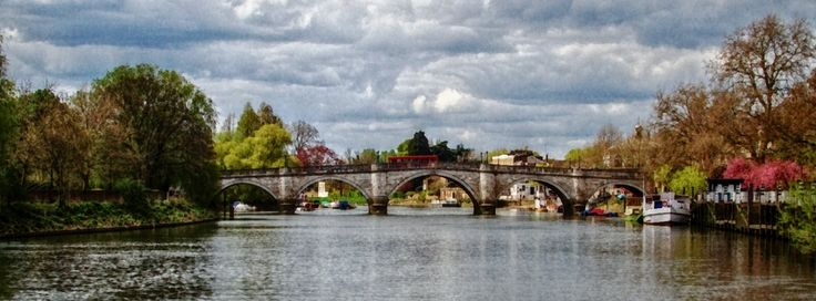 Facebookカバー写真:ロンドンの写真(153) - リッチモンド・ブリッジ