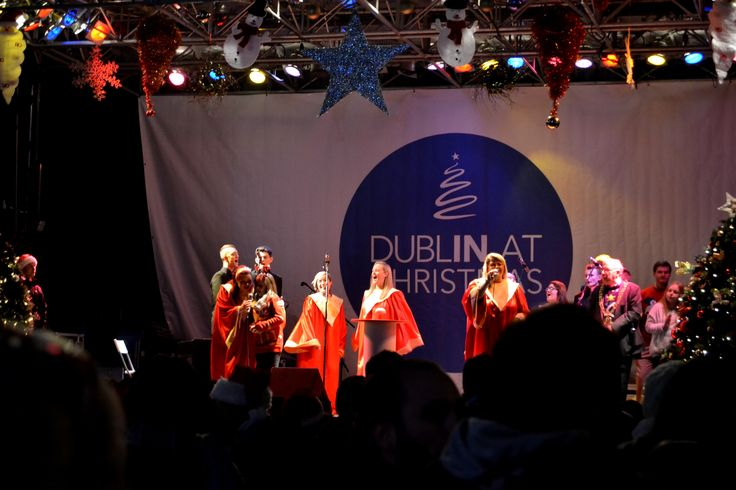 Even at Christmas there is time for music in Ireland! #EazyCity #Dublin