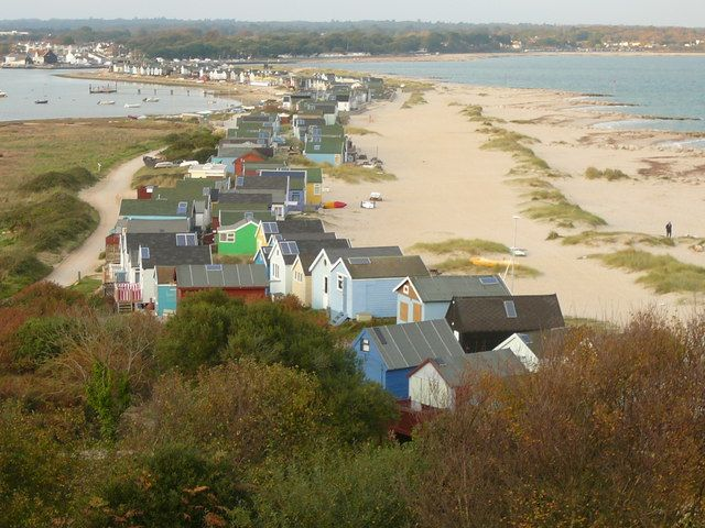 Hengistbury Head, on the Dorset coast~beautiful place to visit.    Yes it is!