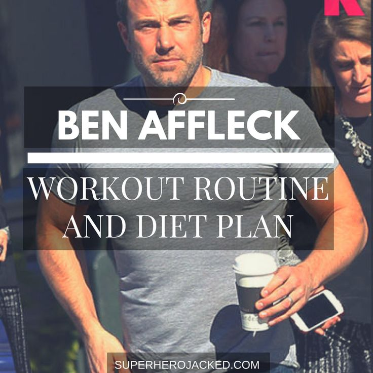 BONUS: Download the FREE Ben Affleck Batman Workout PDF  So, if you haven't already heard the news, Ben Affleck has bulked up 24 lbs in just 4 months for his role as Batman. It's pretty impressive if I do say so Mr. Affleck! To be fair, he definitely needed to put on some mass to do the role justice…