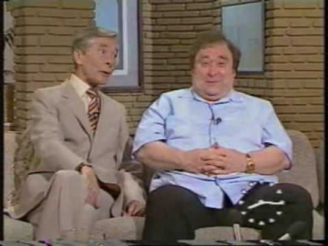 Bernard Manning and Kenneth Williams together on TV-am - 1985 - YouTube