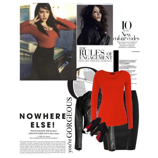 Kat Dennings x, created by preecylove on Polyvore