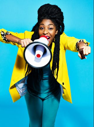 Wired magazine shoot photo Peter Hapak jessica Williams from a The Daily Show