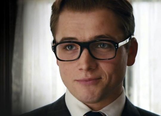 Taron Egerton _ 'Sorry, Love. Gotta save the world' - Eggsy <3