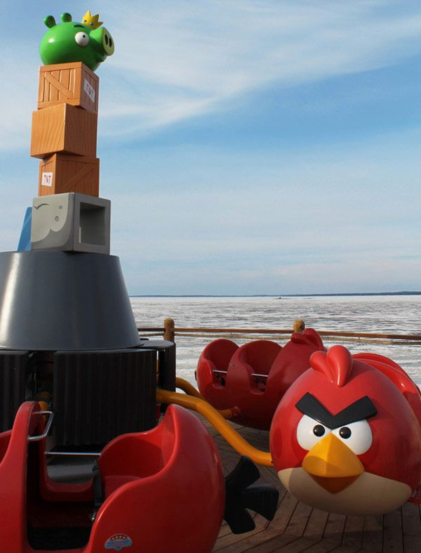 OH WOW!!! Angry Bird theme park in Finland!!!