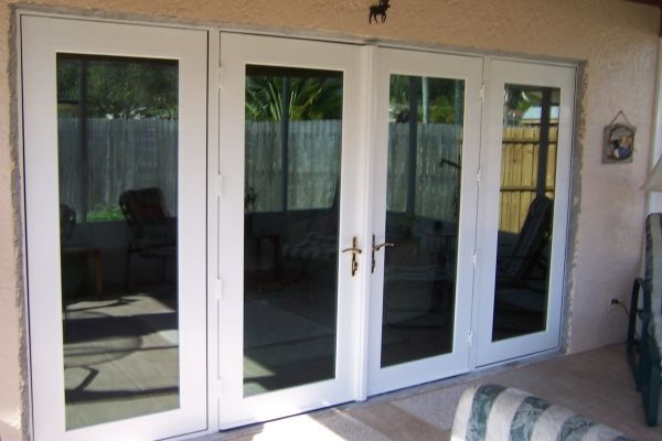 replacing sliding glass doors with glass french doors