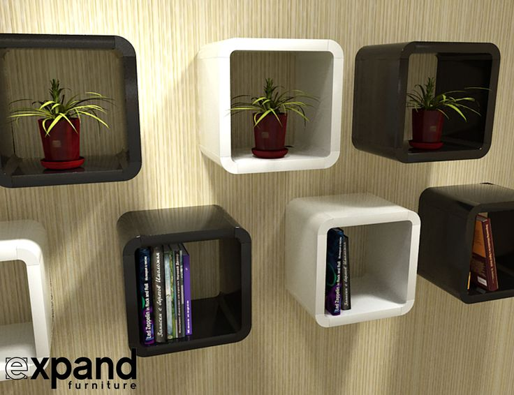 This fun little set is another great modular shelf from Expand Furniture. The modules allow for endless possibilities in terms of assembly and usage.