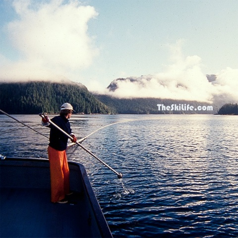 Fishing in Alaska for the summer to earn money to ski all winter.