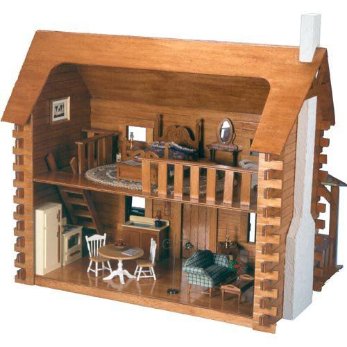 17 Best Ideas About Cabin Dollhouse On Pinterest
