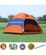 5-8 Persons Waterproof 4 Seasons Double Layer Instant Family Camping Dom... - $79.99