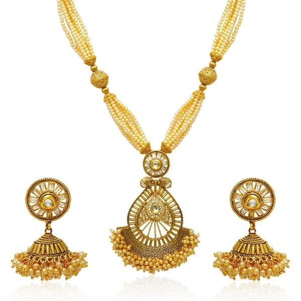 Gold Bridal Traditional Wedding Necklace Set With Rajasthani Mala  http://www.jewelsgalaxy.com/products/women-fashion-jewellery-necklace--sets/jewels-galaxy/gold-bridal-traditional-wedding-necklace-set-with-rajasthani-mala/pid-11615056.aspx  #weddingnecklaceset #longnecklacesets #onlineshopping #latestnecklacesets #necklacesets #artificialjewellery #imitationnecklacesets