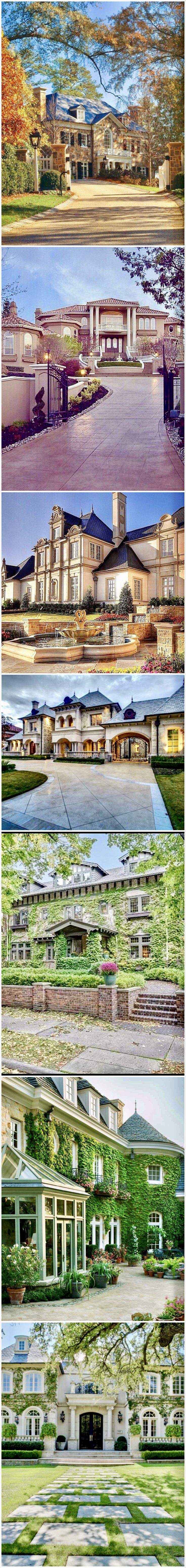 Dream Homes @styleestate #dreamHouse #DreamHome #mansions