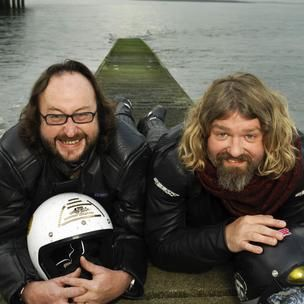 I love cooking shows, and right now I'm going through a 'Hairy Bikers' phase. I love them for doing a vegetarian special that, instead of being cynical or condescending, was open-minded and enthusiastic.