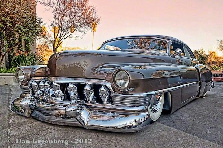 Lead Sled - early 50's Cadillac...Brought to you by #HouseofInsurance for #CarInsuranceinEugene
