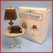 Petite Princess Doll House Miniature #4428-9 Heirloom Table & Accessories with Box by Ideal 19