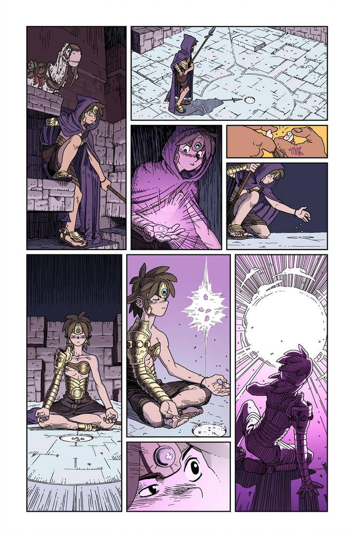 Xvi Page 02 By Synthezoide Comic Layout Comic Book Maker Comic Panels