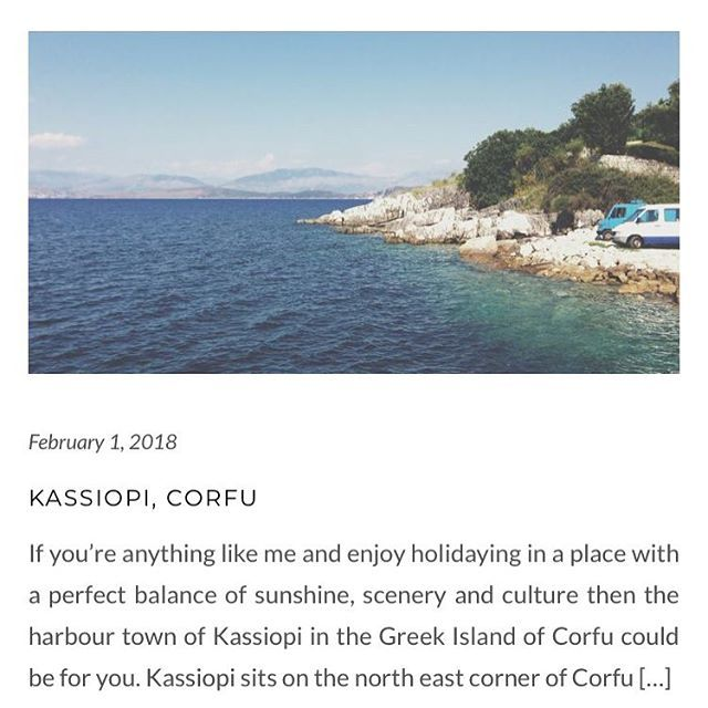 [New Post] On the blog talking about travels to Kassiopi a gorgeous harbour town on the gorgeous island of Corfu for those who want something a little off the beaten track but still with plenty to do and see.  #travelblog #kassiopi #travelblogger #greekislands #ionianislands #corfureview #corfu #europeantravel #greekholiday #familyholiday
