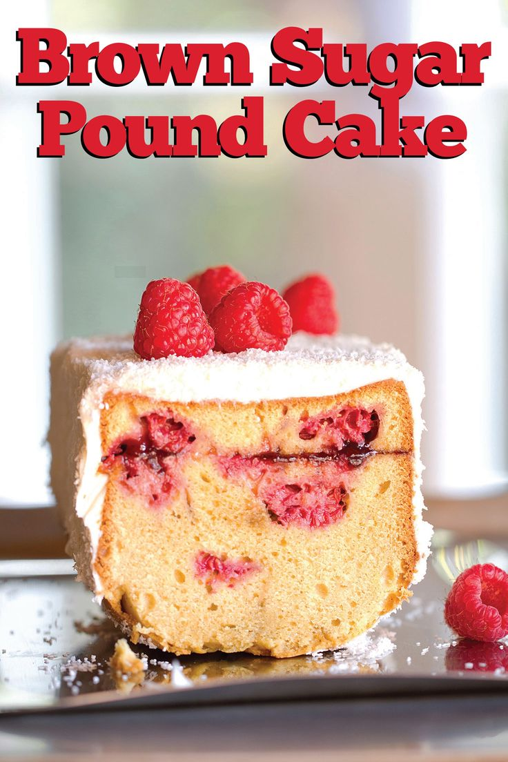 Turn Brown Sugar Pound Cake Upside Down - SippitySup