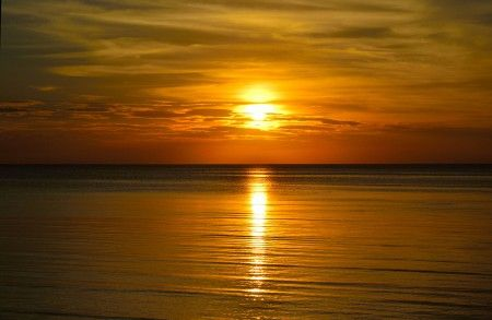 Simon Anon Satria: Beautiful Sunset at Bonang, Central Java - Indonesia
