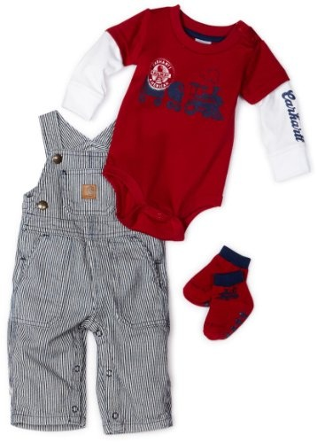 Carhartt Baby-boys Newborn Carhartt 3 Piece Gift Set