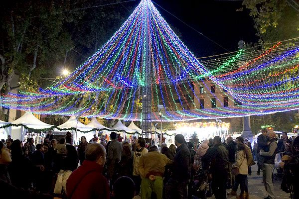 #Sevilla en #Navidad 2013: la Alameda de Hércules