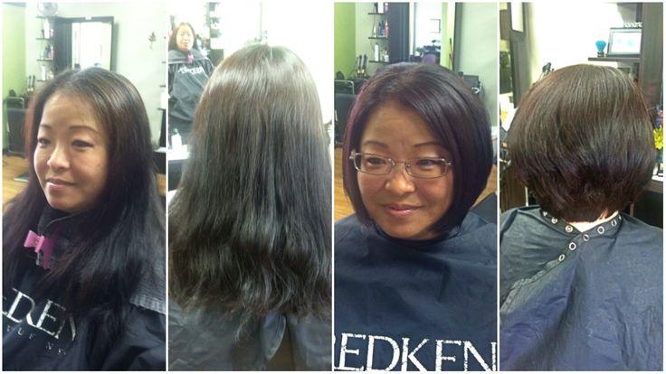 Short hairstyle by Liz Abrams of Invidia Salon