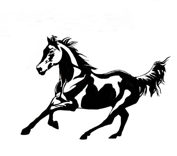 Horse horse wall decal horse sticker designed form photograph decal large decal
