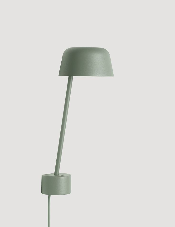 Lean modern scandinavian design wall lamp by muuto muuto