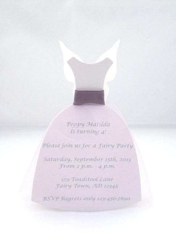 The 25 best Fairy party invitations ideas – Fairy Birthday Party Invitation Wording