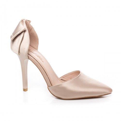 Promotie • Pantofi dama Stiletto Santor aurii cu toc