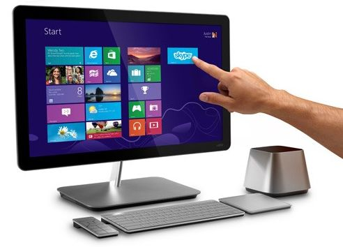 Vizio all-in-one with multi-touch and Windows 8