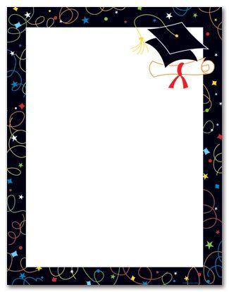 Clip Art Diploma Paper | Graduation Stationery Announcements, Graduation Letter Sheets ...