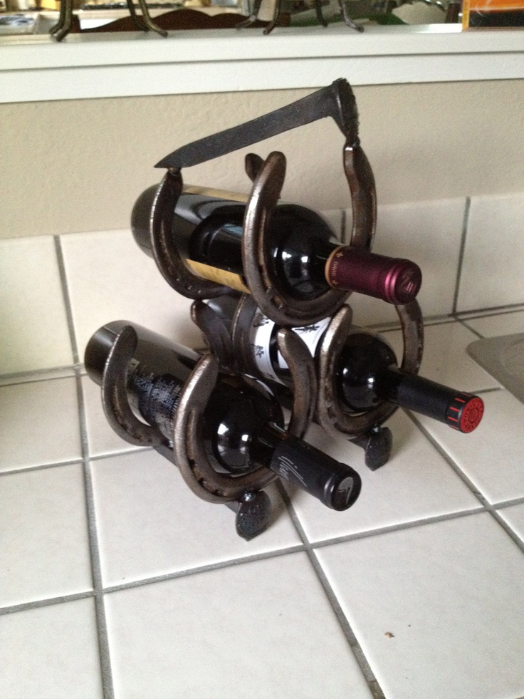 Horseshoe Wine Rack. uh hello buying immediately