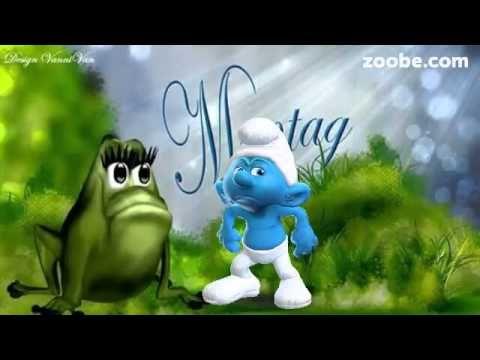 Montag - Hetz mich nicht !!! ;) Schlümpfe, Zoobe, Animation - YouTube
