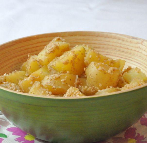 Pommes de terre confites sesame multicuiseur philips-002