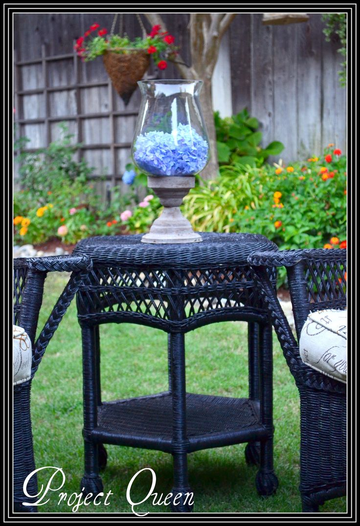 Colorful wicker patio furniture - Best 20 Painting Wicker Furniture Ideas On Pinterest Painting Wicker Painted Wicker Furniture And Painted Wicker