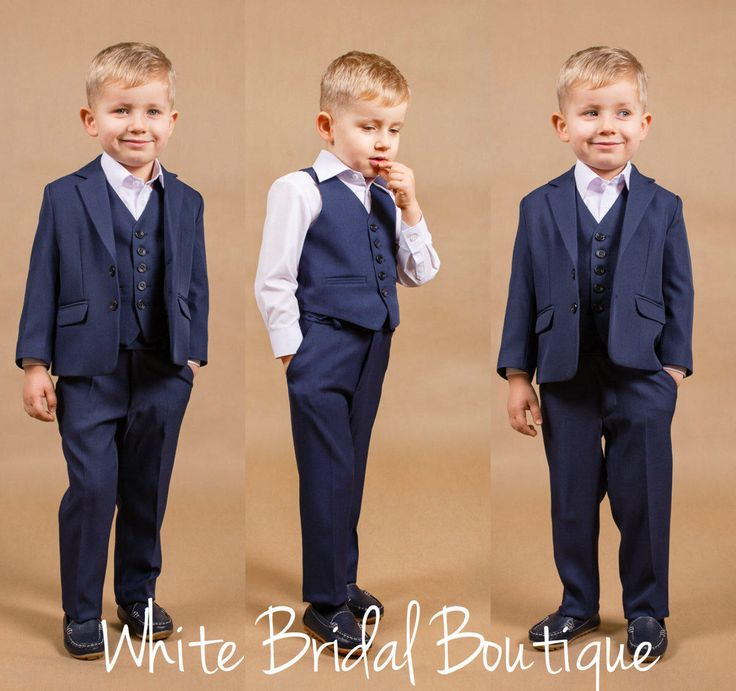 Ring bearer outfit Wedding boy suit Navy boy suit Baby boy outfit Communion suit Wedding boy outfit Toddler suit Baby boy suit Boy outfit by WhiteBridalBoutique on Etsy https://www.etsy.com/listing/164180144/ring-bearer-outfit-wedding-boy-suit-navy