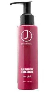 Pink hair, pink hair color, fashion colour, hot pink, Jj Beverly Hills.